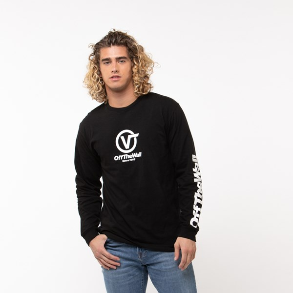 Mens Vans Off the Wall Distort Long Sleeve Tee