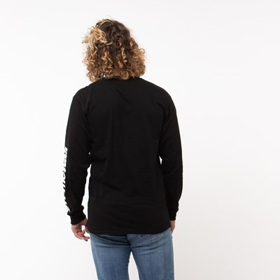 Alternate view of Mens Vans Off the Wall Distort Long Sleeve Tee