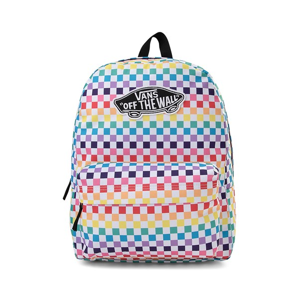 Vans Checkerboard Realm Backpack - Rainbow