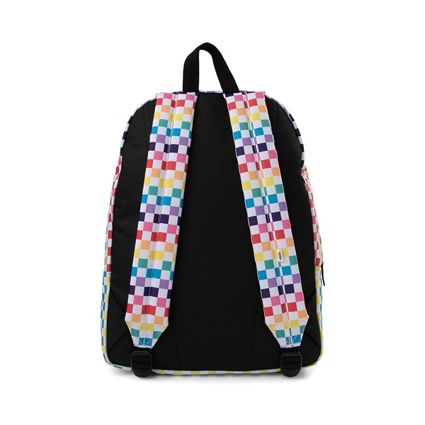 alternate image alternate view Vans Checkerboard Realm Backpack - RainbowALT2