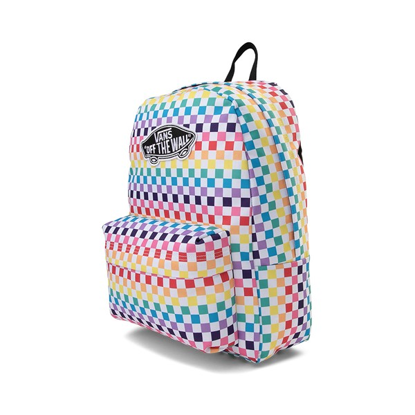 alternate image alternate view Vans Checkerboard Realm Backpack - RainbowALT4