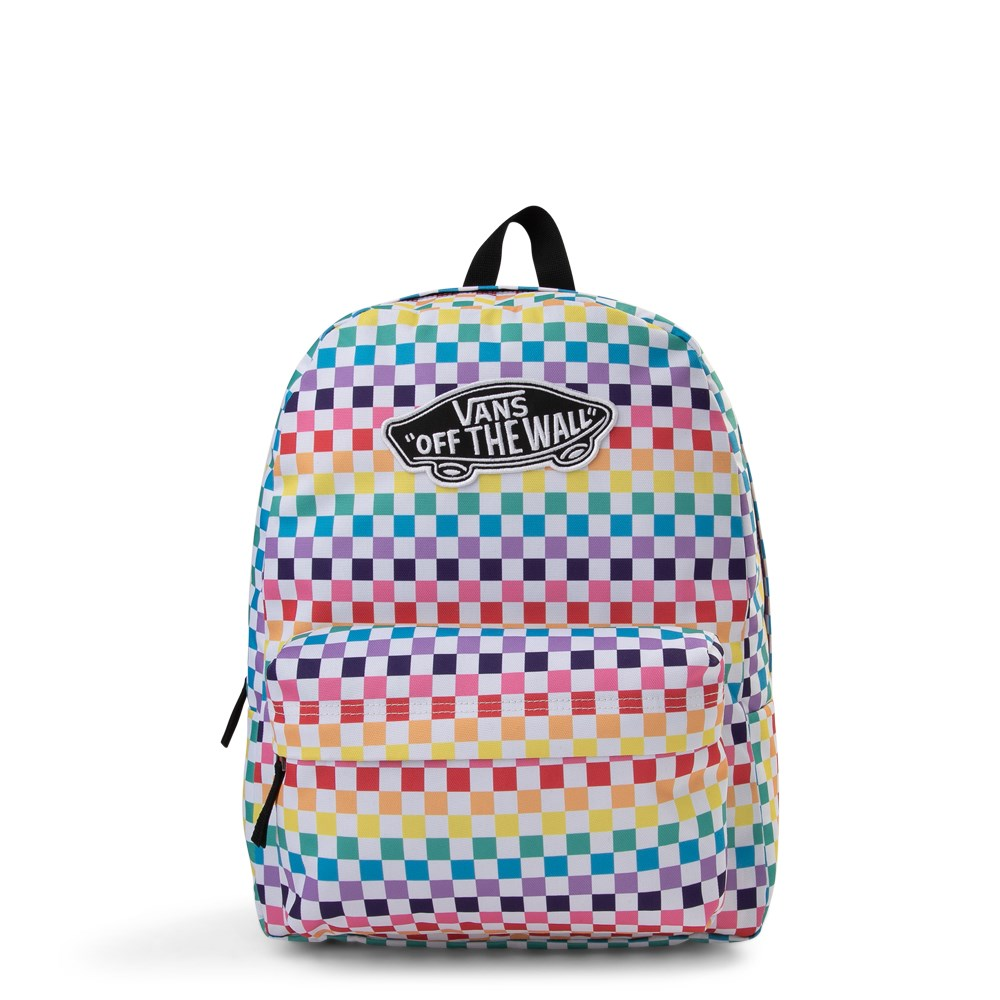 Vans Rainbow Check Realm Backpack