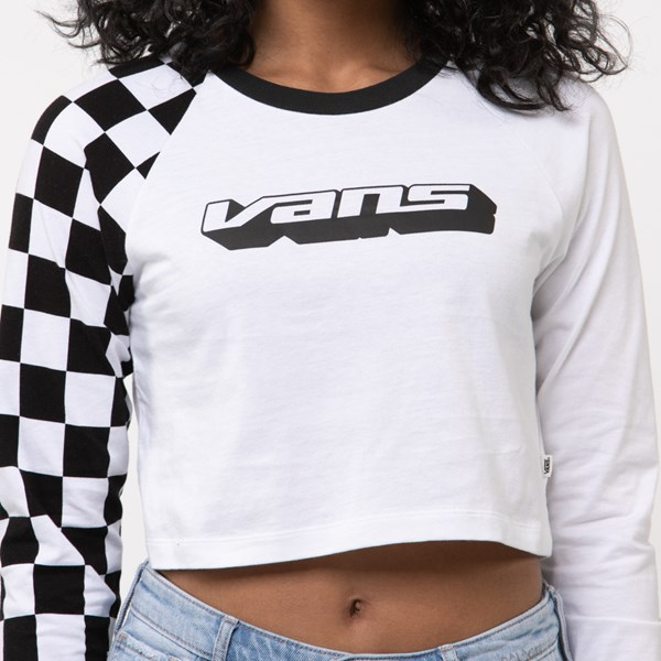 alternate image alternate view Womens Vans Speedcross Cropped Long Sleeve TeeALT4
