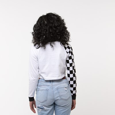 Alternate view of Womens Vans Speedcross Cropped Long Sleeve Tee