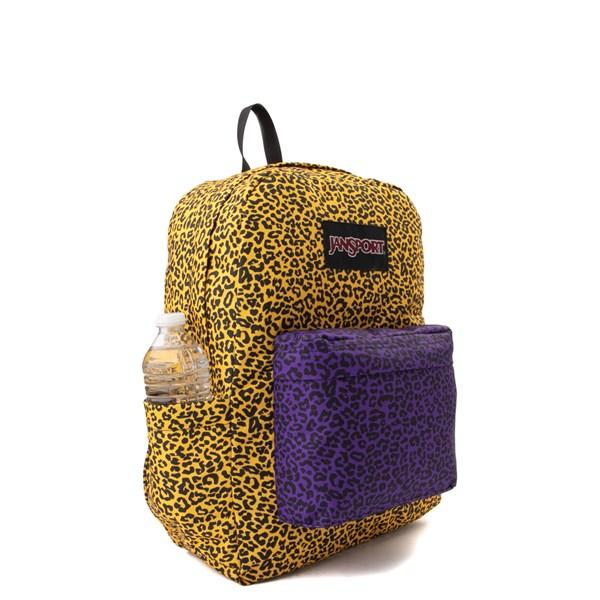 alternate image alternate view JanSport Ashbury Leopard Life BackpackALT1
