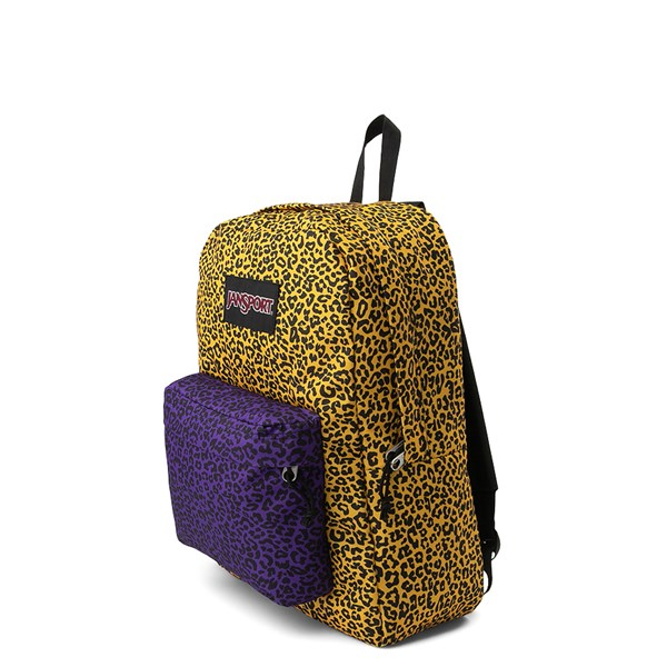 alternate image alternate view JanSport Ashbury Leopard Life BackpackALT2