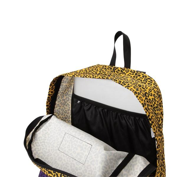 alternate image alternate view JanSport Ashbury Leopard Life BackpackALT4