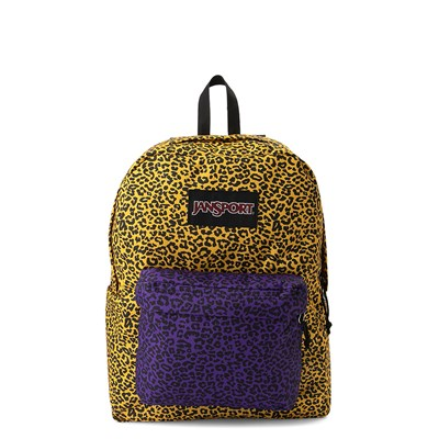 Main view of JanSport Ashbury Leopard Life Backpack