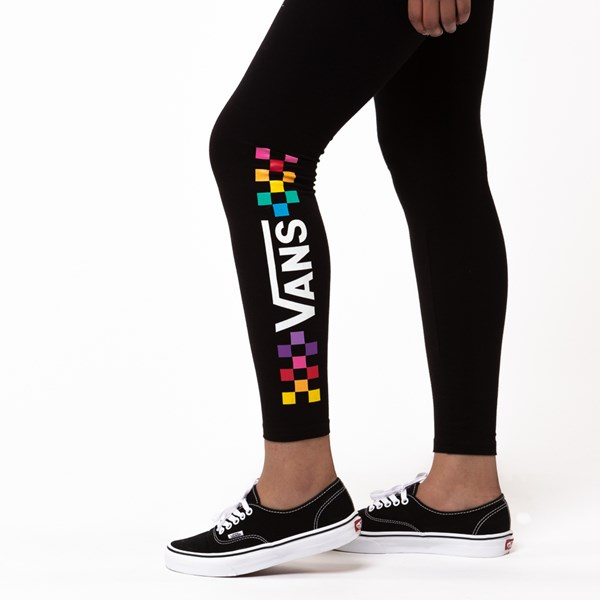 alternate image alternate view Womens Vans Wound Up LeggingsALT4