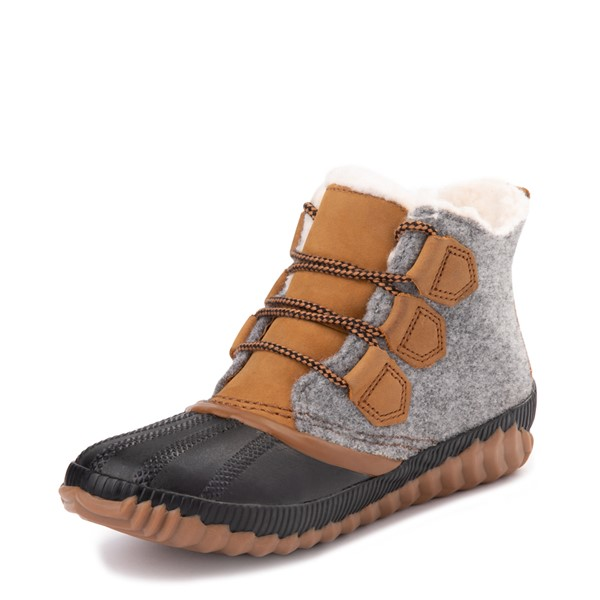 alternate image alternate view Womens Sorel Out N About Plus Felt Boot - Elk / GreyALT2