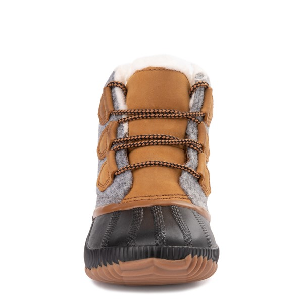 alternate image alternate view Womens Sorel Out N About Plus Felt Boot - Elk / GreyALT4