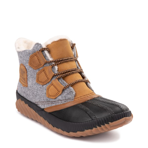 alternate image alternate view Womens Sorel Out N About Plus Felt Boot - Elk / GreyALT5