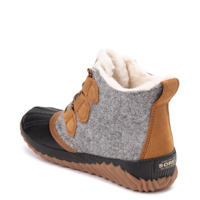Alternate view of Womens Sorel Out N About Plus Felt Boot - Elk / Grey