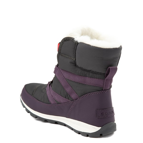 alternate image alternate view Womens Sorel Whitney Short Bootie - Dark PlumALT2