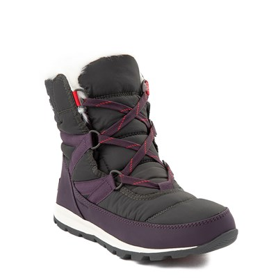 Alternate view of Womens Sorel Whitney Short Bootie - Dark Plum