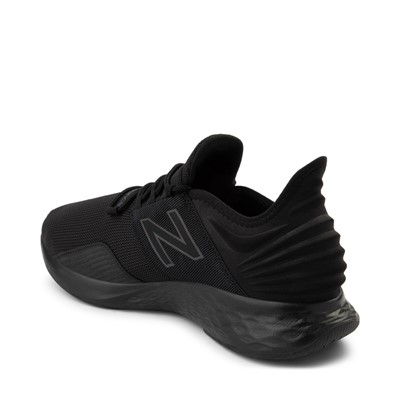Alternate view of Mens New Balance Fresh Foam Roav Athletic Shoe - Magnet Black