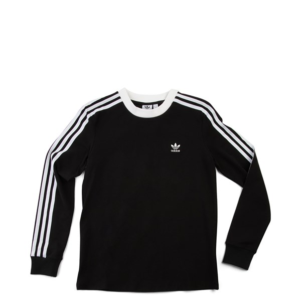 Womens adidas 3-Stripes Long Sleeve Tee