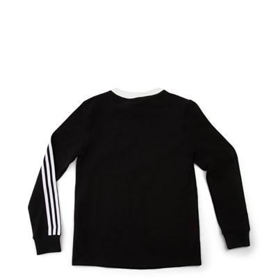 Alternate view of Womens adidas 3-Stripes Long Sleeve Tee