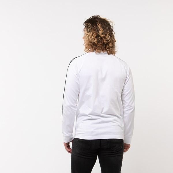 alternate image alternate view Mens adidas 3-Stripes Long Sleeve TeeALT1