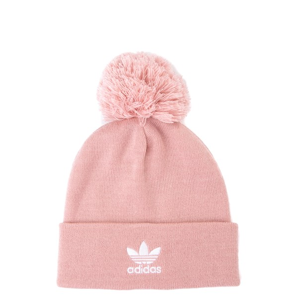 Main view of adidas Trefoil Pom Beanie