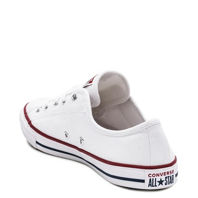 Alternate view of Womens Converse Chuck Taylor All Star Dainty Sneaker - White