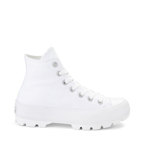 Womens Converse Chuck Taylor All Star Hi Lugged Sneaker - White