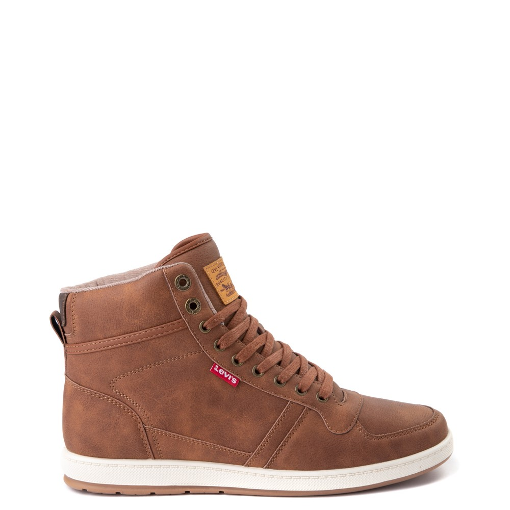 Mens Levi's Stanton Hi Casual Shoe - Tan