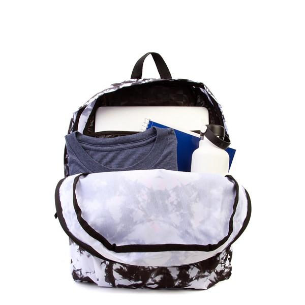alternate image alternate view Vans Realm Cloud Wash Backpack - Black / WhiteALT1