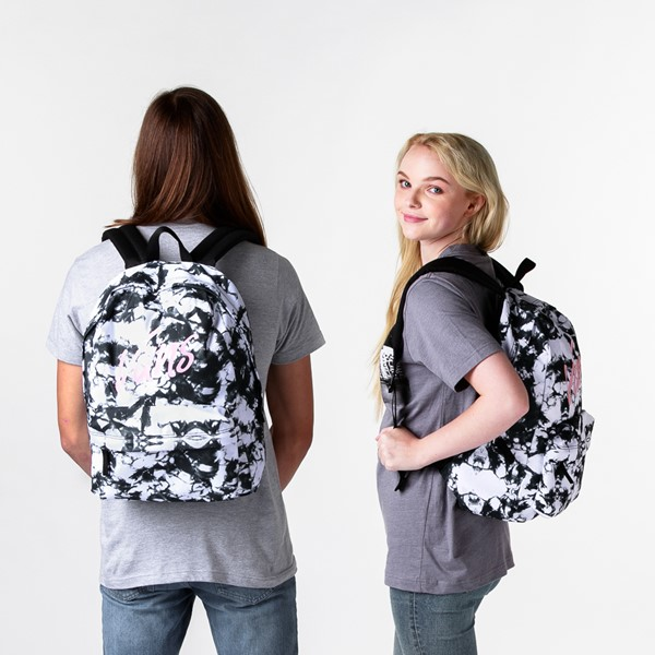 alternate image alternate view Vans Realm Cloud Wash Backpack - Black / WhiteALT1BADULT