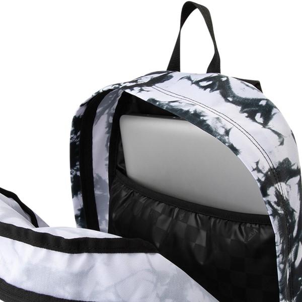 alternate image alternate view Vans Realm Cloud Wash Backpack - Black / WhiteALT3