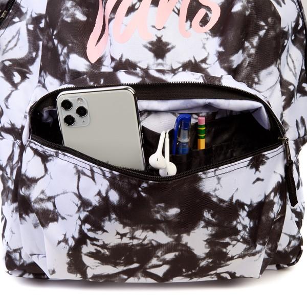 alternate image alternate view Vans Realm Cloud Wash Backpack - Black / WhiteALT3B