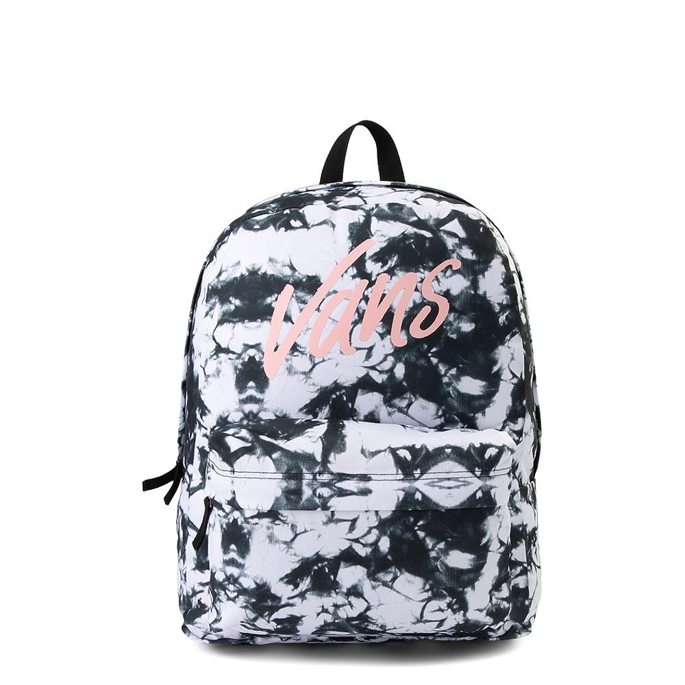 Vans Realm Cloud Wash Backpack - Black / White