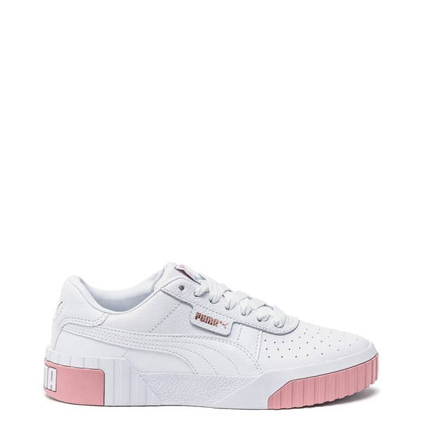 Womens Puma Cali Fashion Athletic Shoe - White / Pink