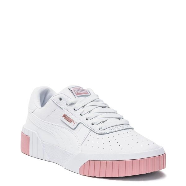 alternate image alternate view Womens Puma Cali Fashion Athletic Shoe - White / PinkALT1