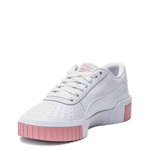 alternate image alternate view Womens Puma Cali Fashion Athletic Shoe - White / PinkALT3
