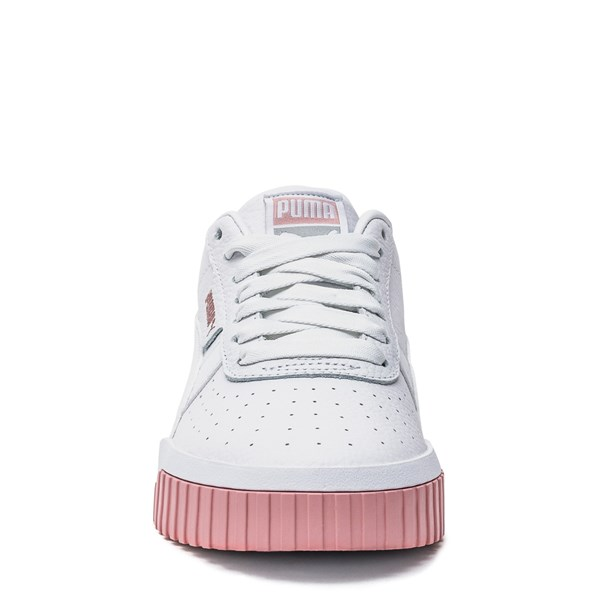 alternate image alternate view Womens Puma Cali Fashion Athletic Shoe - White / PinkALT4