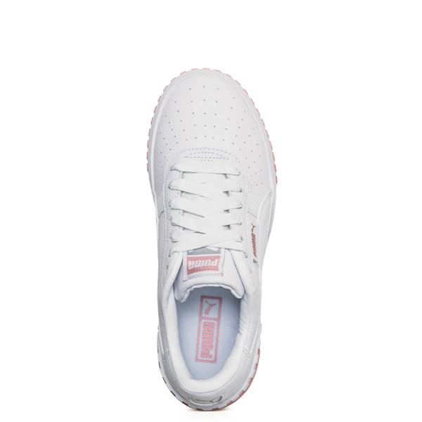alternate image alternate view Womens Puma Cali Fashion Athletic Shoe - White / PinkALT4B