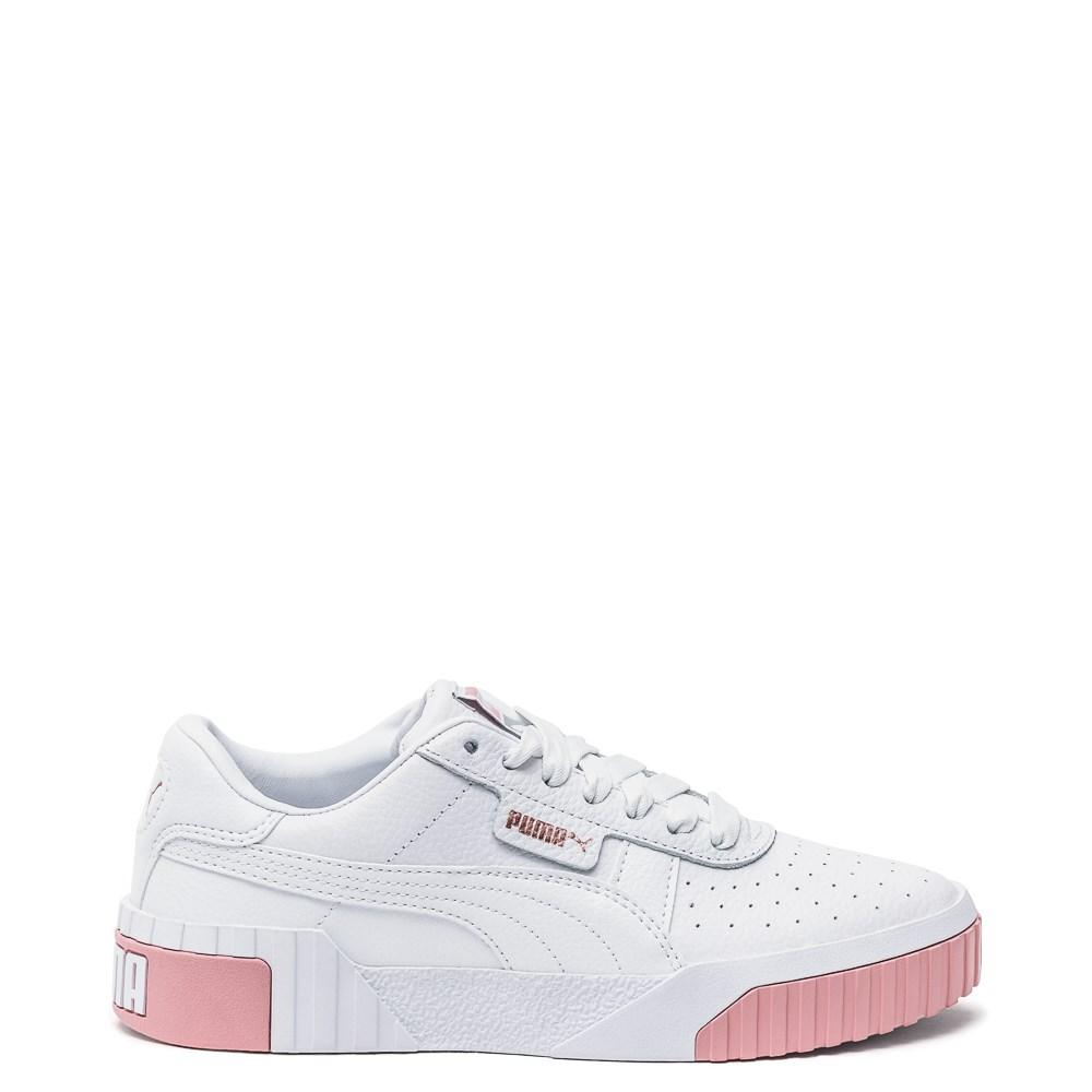Womens Puma Cali Fashion Athletic Shoe - White / Pink
