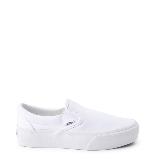 Main view of Vans Slip On Platform Skate Shoe