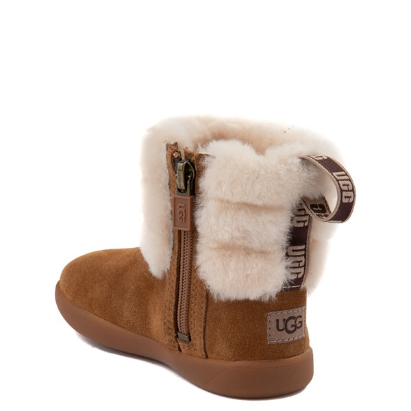 alternate image alternate view UGG® Classic Mini Fluff Boot - Toddler / Little KidALT1