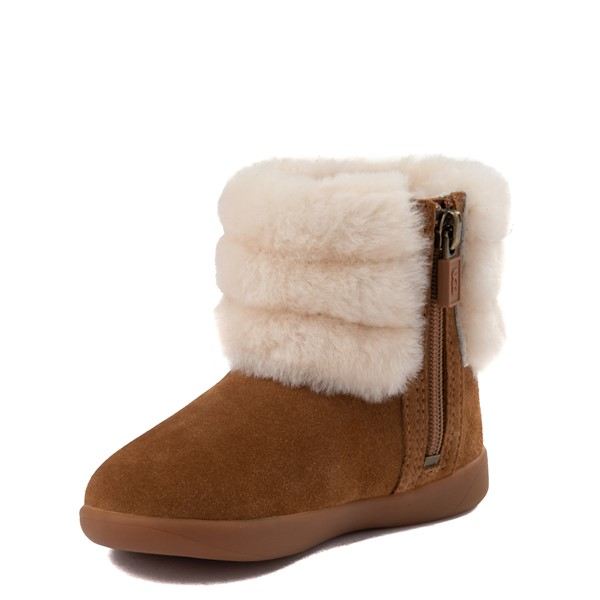 alternate image alternate view UGG® Classic Mini Fluff Boot - Toddler / Little KidALT2
