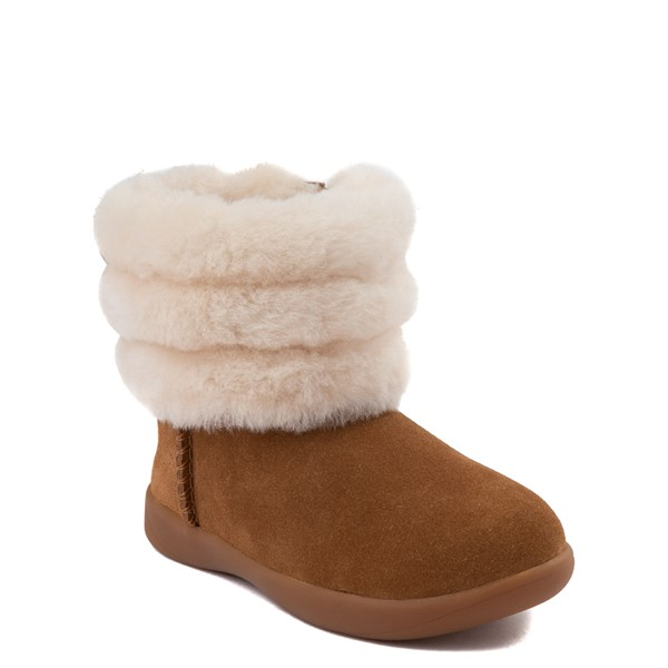 alternate image alternate view UGG® Classic Mini Fluff Boot - Toddler / Little KidALT5