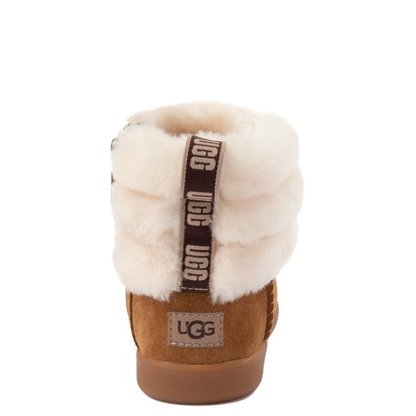 alternate image alternate view UGG® Classic Mini Fluff Boot - Toddler / Little KidALT6