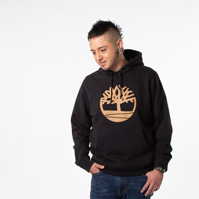 Main view of Mens Timberland Logo Hoodie