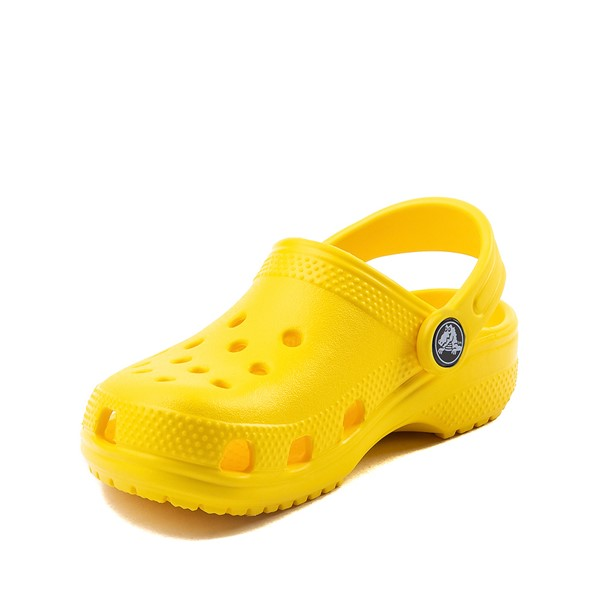 alternate image alternate view Crocs Classic Clog - Little Kid / Big Kid - YellowALT2