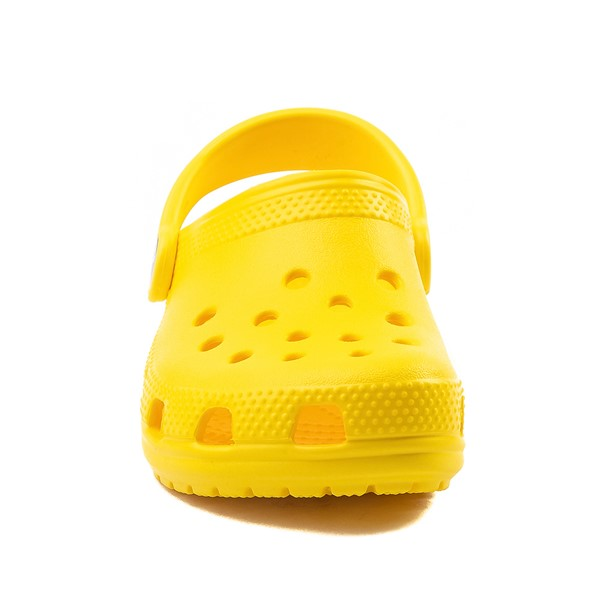 alternate image alternate view Crocs Classic Clog - Little Kid / Big Kid - YellowALT4