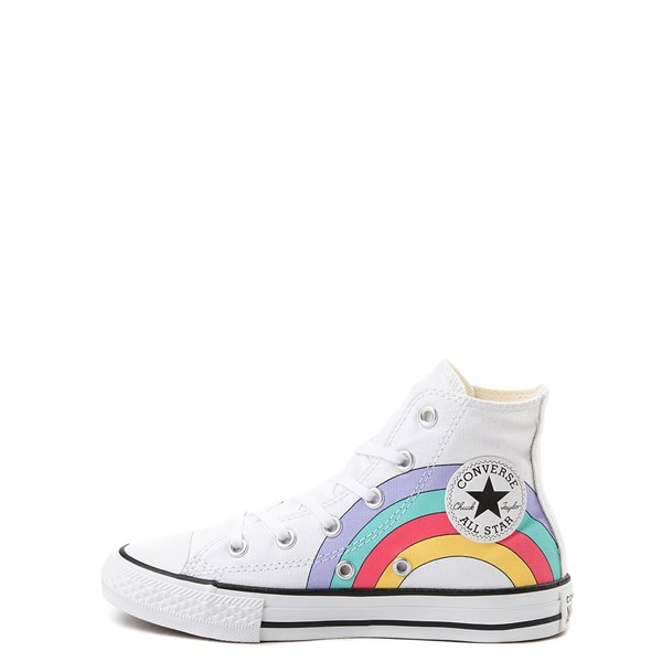 alternate image alternate view Converse Chuck Taylor All Star Unicorn Rainbow Hi Sneaker - Little Kid / Big KidALT1