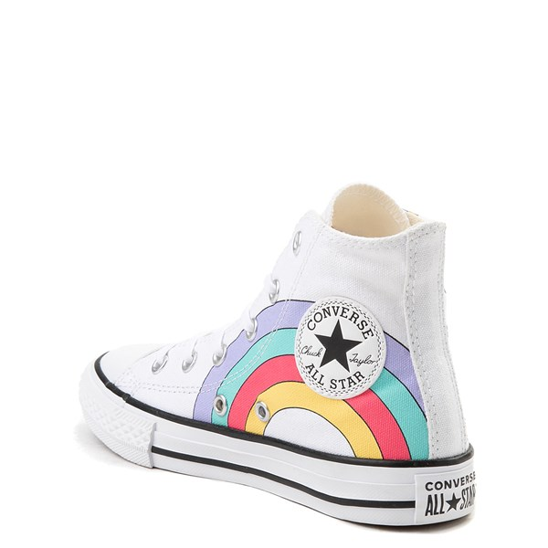 alternate image alternate view Converse Chuck Taylor All Star Unicorn Rainbow Hi Sneaker - Little Kid / Big KidALT2