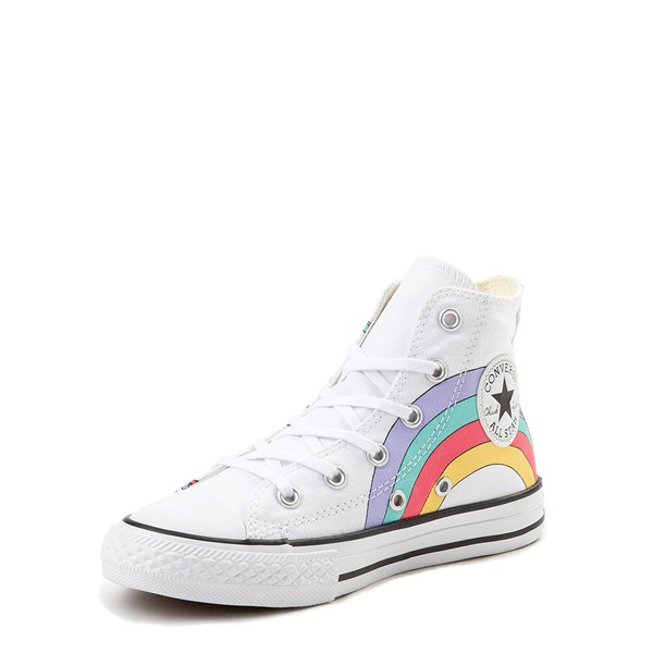 alternate image alternate view Converse Chuck Taylor All Star Unicorn Rainbow Hi Sneaker - Little Kid / Big KidALT3