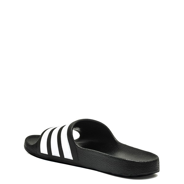 alternate image alternate view adidas Adilette Shower Slide Sandal - Little Kid / Big KidALT1